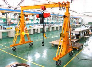 3-Ton-Gantry-Crane