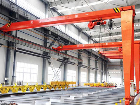hoist gantry crane with single girder sales