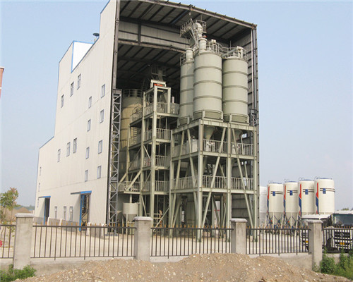 dry mix mortar plant GJ80